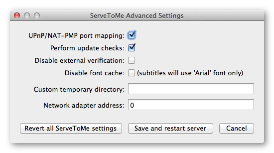 zqueue: ServeToMe further features